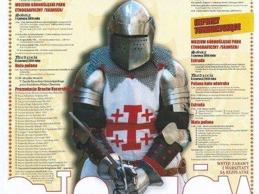 Rycerze w swoich zbrojach będą czekali na tych, którzy chcą poczuć klimat średniowiecza (fot. Materiały organizatora)