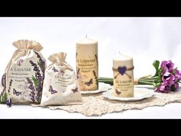 Embedded thumbnail for Lawendowe świeczki i woreczki