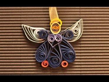 Embedded thumbnail for Jak zrobić aniołka z papieru