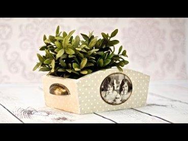 Embedded thumbnail for Drewniane pudełko nie tylko na kwiatki