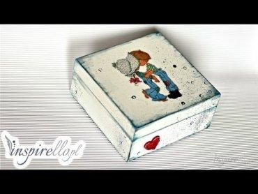 Embedded thumbnail for Drewniane pudełko z Jasiem i Małgosią