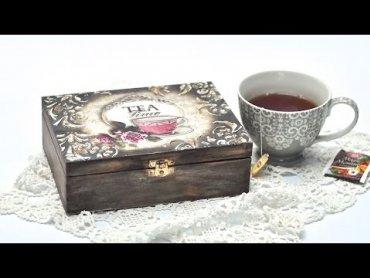 Embedded thumbnail for Zrób swoje ozdobne pudełko na herbatę