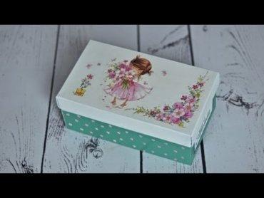 Embedded thumbnail for Ozdobne pudełko po butach