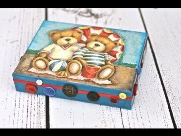Embedded thumbnail for Pudełko z guziczkami dla chłopca